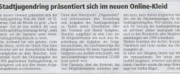 Wochenblattartikel: Neues Onlinekleid